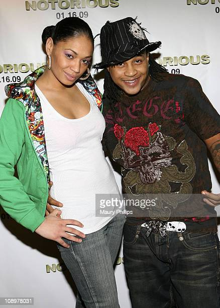 Actor Orlando Brown and guest arrives at the screening of Notorious on January 12 2009 in Los Angeles California