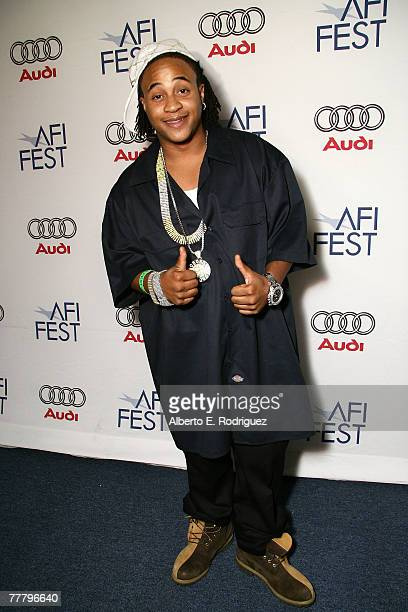 Actor Orlando Brown arrives at the world premiere of Public Enemy during AFI FEST 2007 presented by Audi held at Arclight Cinemas on November 7 2007...