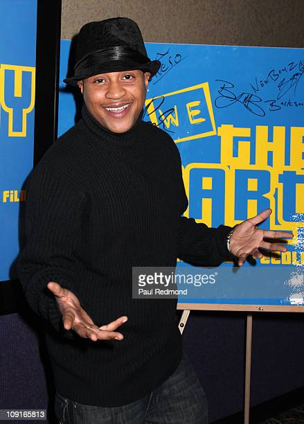 Actor Orlando Brown arrives at We The Party Los Angeles Screening at AMC Criterion 6 on February 15 2011 in Santa Monica California