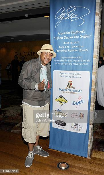 Actor Orlando Brown attends the 1st Annual Cynthia Stafford's Gifted Day At The Geffen Playhouse on June 15 2011 in Los Angeles California