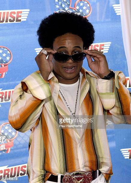 Actor Orlando Brown attends the premiere of Tiger Cruise on August 3 2004 on board the USS Intrepid Sea AirSpace Museum in New York City