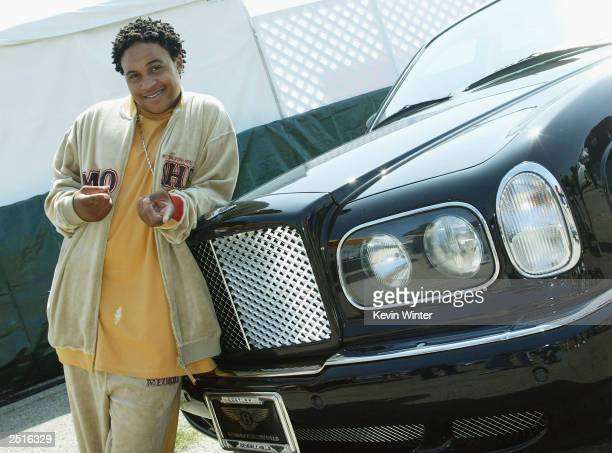 Actor Orlando Brown poses at Shaquille O'Neal's childrens benefit Shaqtacular VIII held at the Santa Monica Airport on September 20 2003 in Santa...