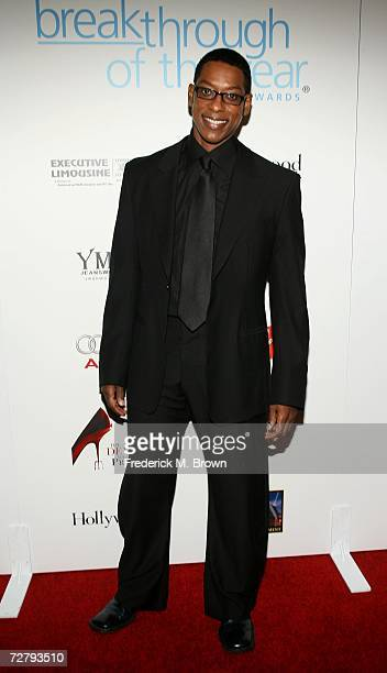 Actor Orlando Jones arrives at the Hollywood Life magazine's 6th Annual Breakthrough Awards held at Henry Fonda Music Box Theatre on December 10 2006...