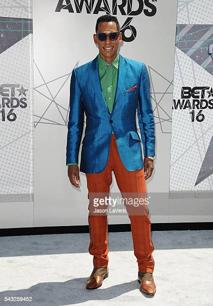 Actor Orlando Jones attends the 2016 BET Awards at Microsoft Theater on June 26 2016 in Los Angeles California