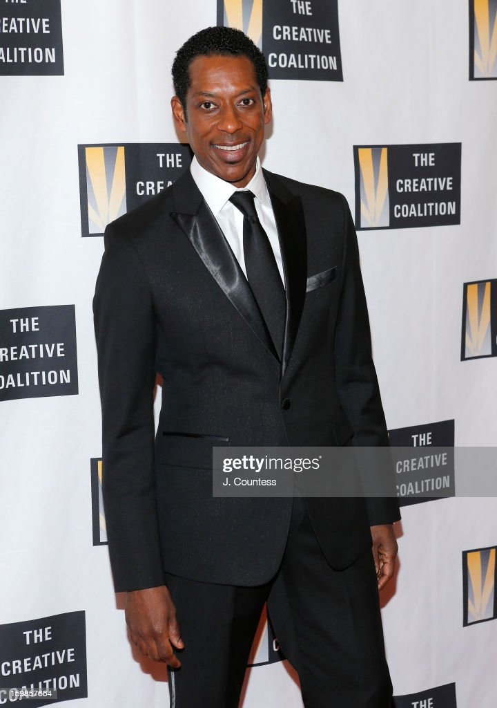 Actor Orlando Jones attends The Creative Coalition's 2013 Inaugural Ball on January 21, 2013 in Washington, United States.