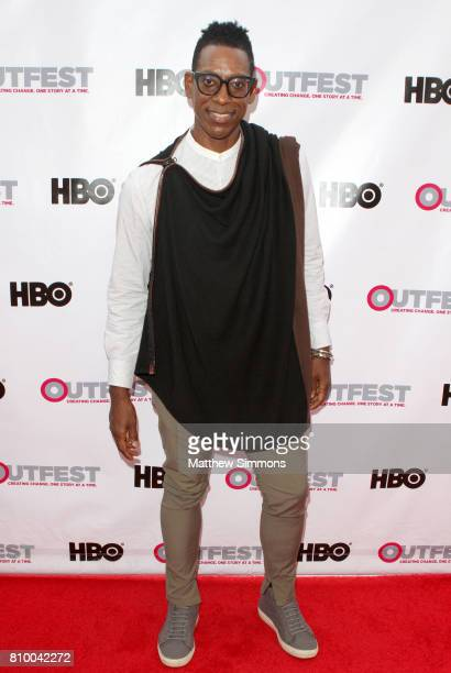 Actor Orlando Jones attends the opening night gala of 'God's Own Country' at the 2017 Outfest Los Angeles LGBT Film Festival at Orpheum Theatre on...