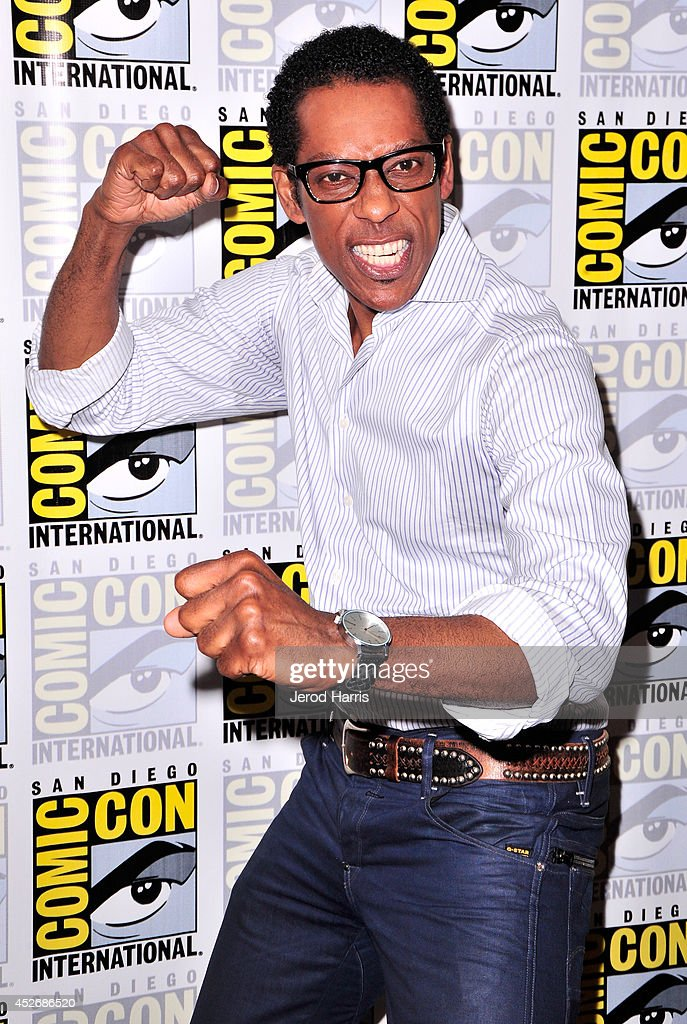 Actor Orlando Jones attends the 'Sleepy Hollow' Press Line during Comic-Con International 2014 at Hilton Bayfront on July 25, 2014 in San Diego, California.