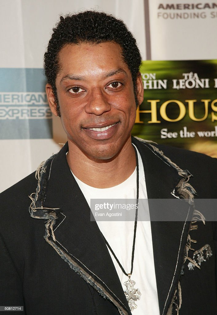 Actor Orlando Jones poses at the screening of 'House Of D' during the 2004 Tribeca Film Festival May 7, 2004 in New York City.