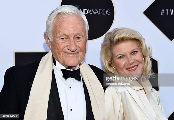 Actor Orson Bean and actress Alley Mills arrive at the 2015 TV LAND Awards at the Saban Theatre on April 11 2015 in Beverly Hills California