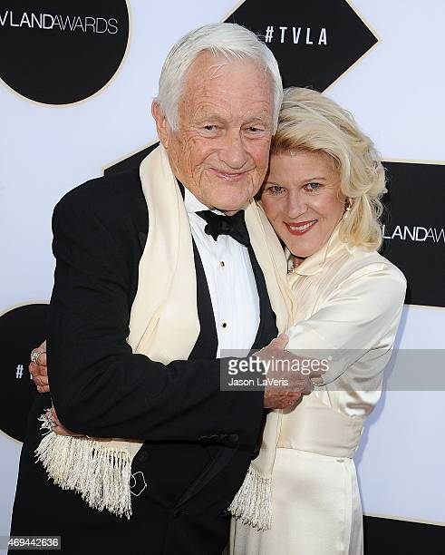 Actor Orson Bean and actress Alley Mills attend the 2015 TV LAND Awards at Saban Theatre on April 11 2015 in Beverly Hills California
