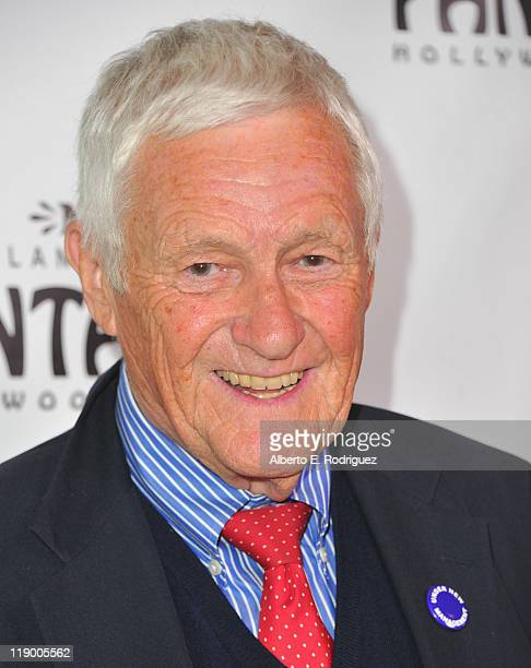 Actor Orson Bean arrives to the Los Angeles Opening Night of Shrek The Musical' at the Pantages Theatre on July 13 2011 in Hollywood California