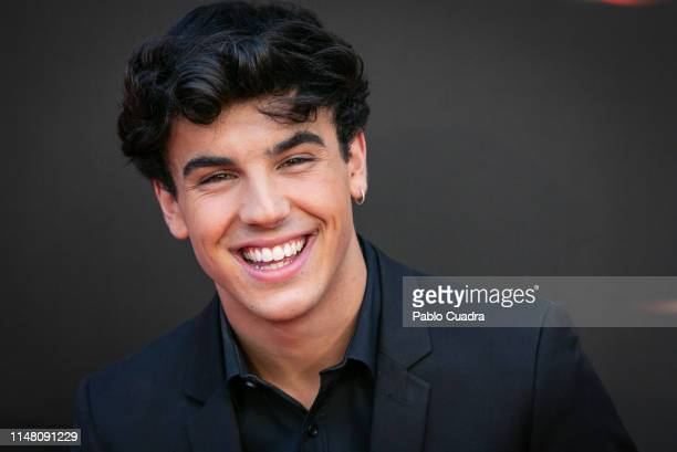Actor Oscar Casas attends Instinto premiere by Movistar at Callao Cinema on May 09 2019 in Madrid Spain