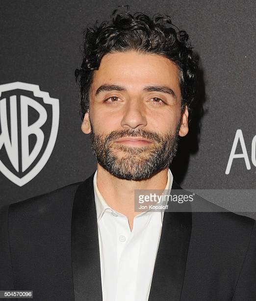 Actor Oscar Isaac arrives at the 2016 InStyle And Warner Bros 73rd Annual Golden Globe Awards PostParty at The Beverly Hilton Hotel on January 10...