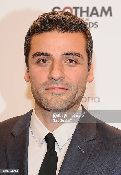 Actor Oscar Isaac attends the 23rd annual Gotham Independent Film Awards at Cipriani Wall Street on December 2, 2013 in New York City.