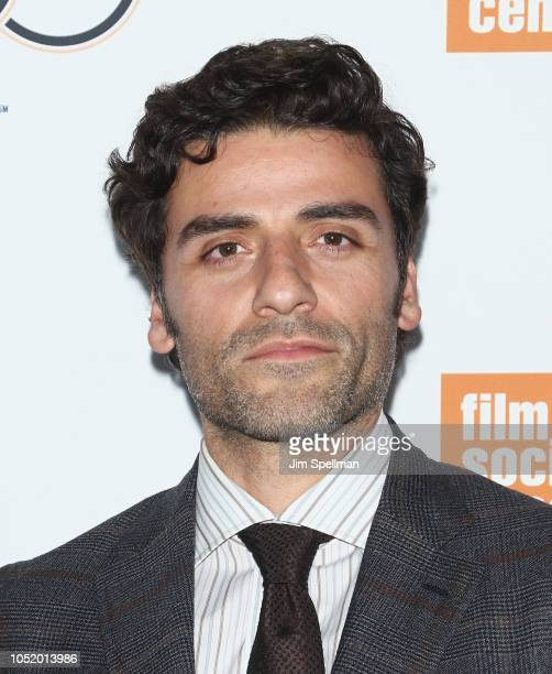 Actor Oscar Isaac attends the 56th New York Film Festival premiere of At Eternity's Gate at Alice Tully Hall Lincoln Center on October 12 2018 in New...