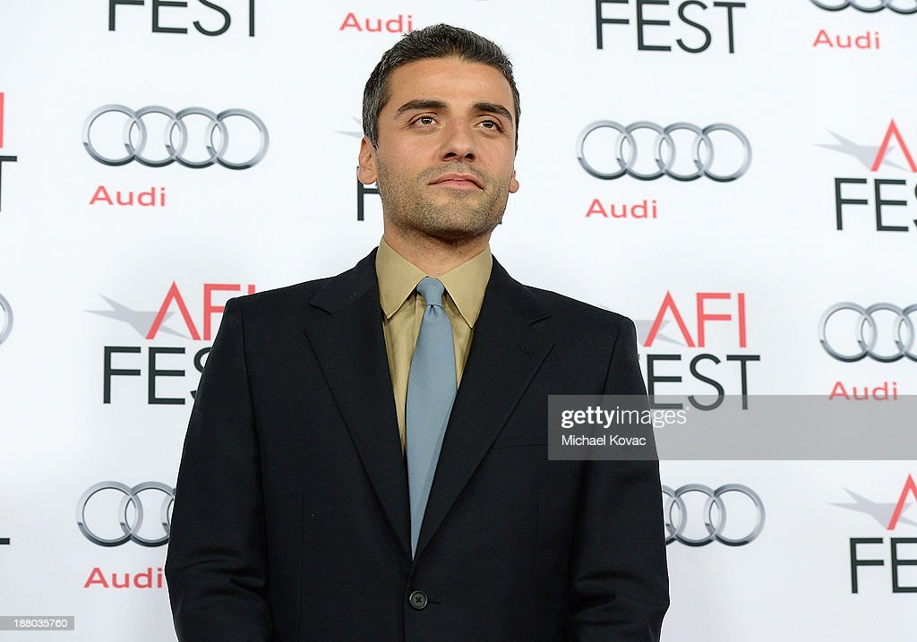 Actor Oscar Isaac attends the AFI FEST 2013 presented by Audi closing night gala screening of 'Inside Llewyn Davis' at TCL Chinese Theatre on November 14, 2013 in Hollywood, California.