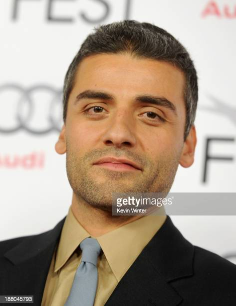 Actor Oscar Isaac attends the AFI Premiere Screening of 'Inside Llewyn Davis' at TCL Chinese Theatre on November 14 2013 in Hollywood California
