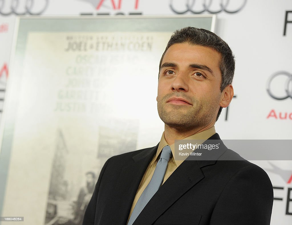 Actor Oscar Isaac attends the AFI Premiere Screening of 'Inside Llewyn Davis' at TCL Chinese Theatre on November 14, 2013 in Hollywood, California.