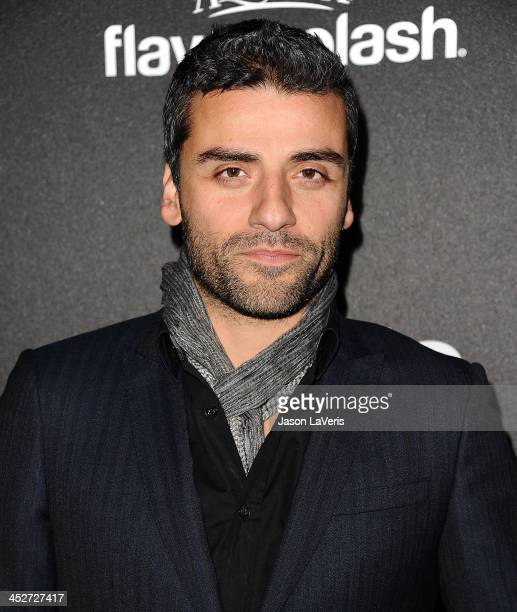 Actor Oscar Isaac attends the Miss Golden Globe event at Fig Olive Melrose Place on November 21 2013 in West Hollywood California
