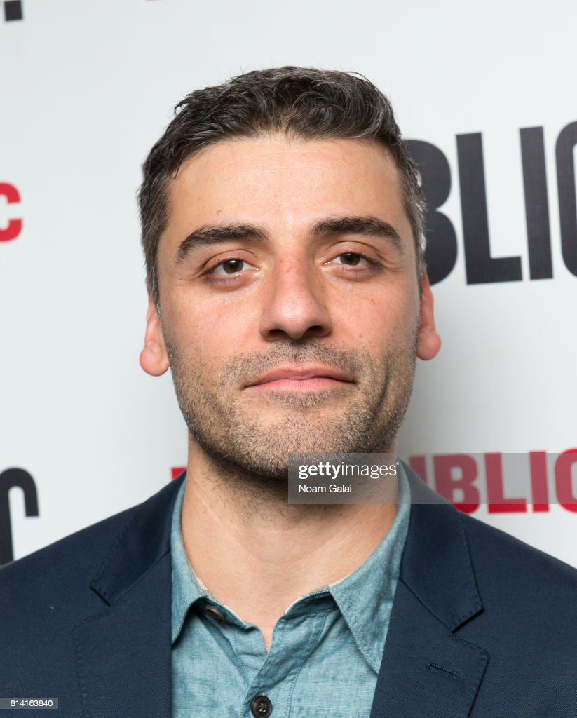 Actor Oscar Isaac attends the opening night of 'Hamlet' at The Public Theater on July 13, 2017 in New York City.