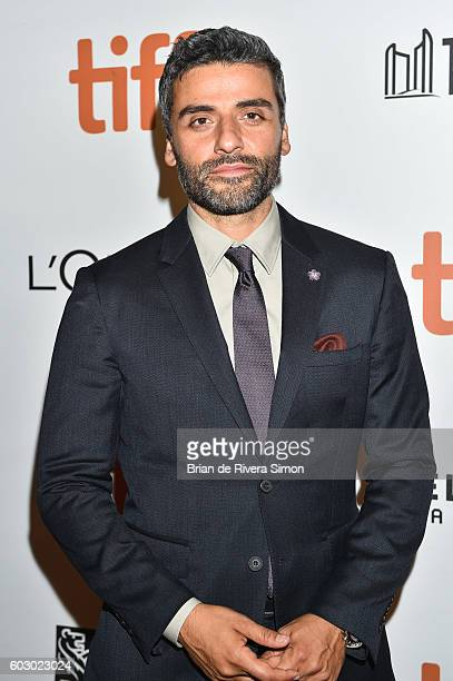 Actor Oscar Isaac attends The Promise premiere during 2016 Toronto International Film Festival at Roy Thomson Hall on September 11 2016 in Toronto...