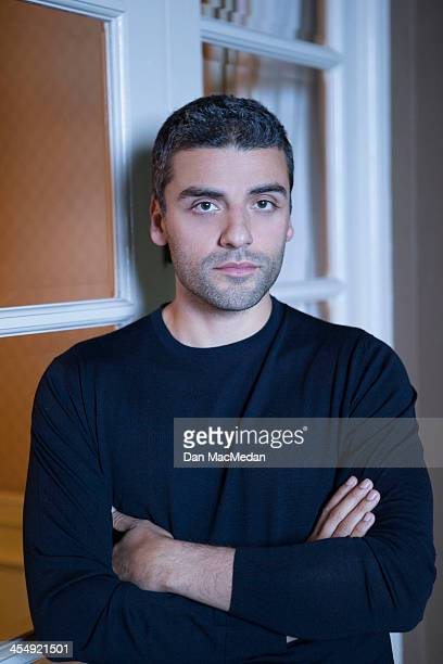 Actor Oscar Isaac is photographed for USA Today on November 15 2013 in Los Angeles California