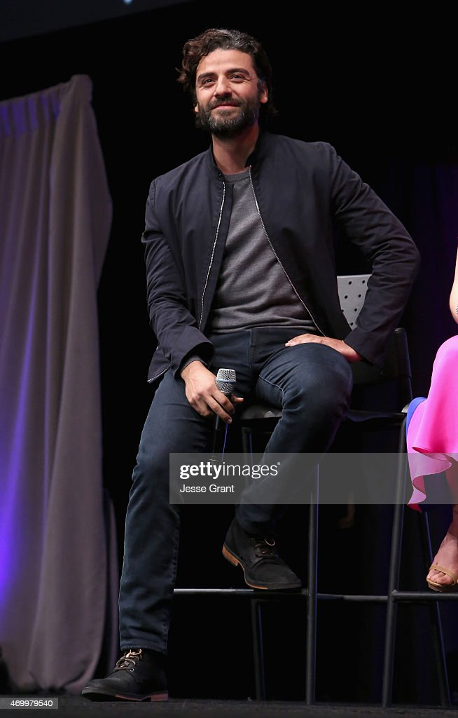 Actor Oscar Isaac speaks onstage during Star Wars Celebration 2015 on April 16, 2015 in Anaheim, California.