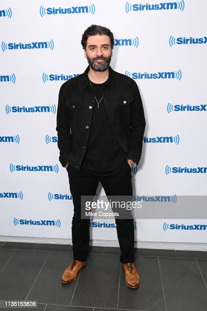Actor Oscar Isaac visits SiriusXM at SiriusXM Studios on March 11 2019 in New York City