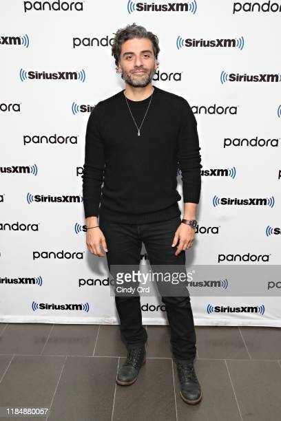 Actor Oscar Isaac visits the SiriusXM Studios on November 26 2019 in New York City