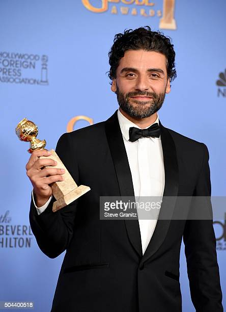 Actor Oscar Isaac winner of the award for Best Performance by an Actor in a Limited Series or a Motion Picture Made for Television for 'Show Me a...
