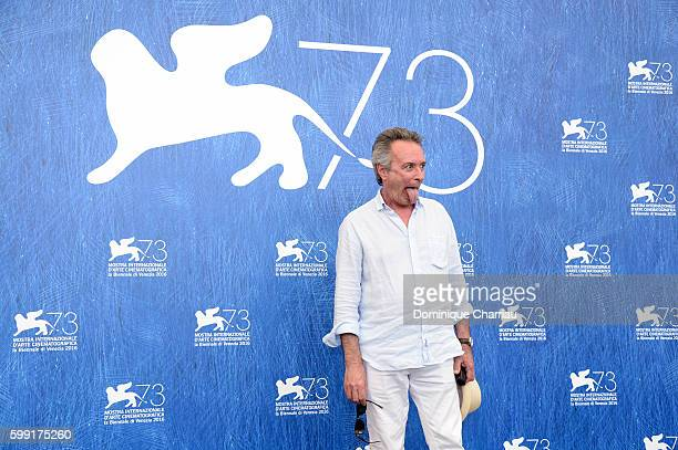 Actor Oscar Martinez attends the photocall of 'The Distinguished Citizen'l during the 73rd Venice Film Festival at Palazzo del Casino on September 4,...