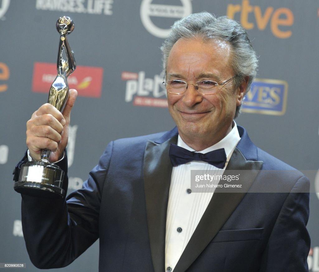 Actor Oscar Martinez attends the 'Platino Awards 2017