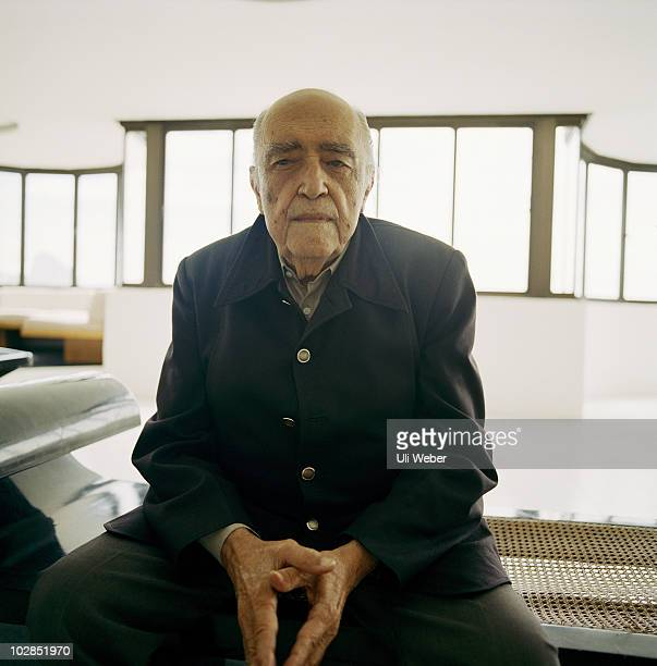Actor Oscar Niemeyer poses for a portrait shoot in New York