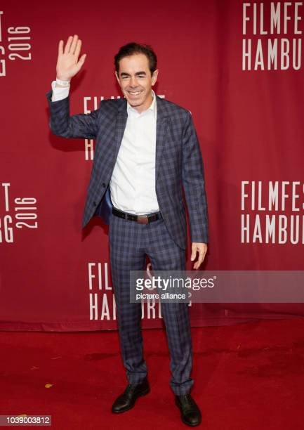 Actor Oscar Ortega Sanchez arrives to the opening of the 24th Filmfest at the CinemaxXDammtor in HamburgGermany 29 September 2016...