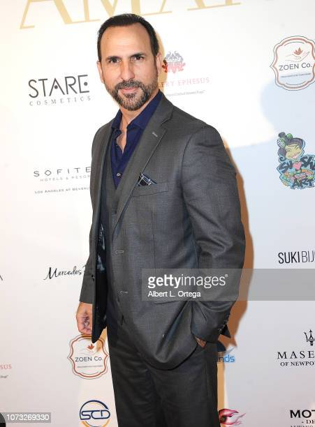 Actor Oscar Torre attends the Amare's Second Year Anniversary 'Believe Issue' Party held at Sofitel Los Angeles At Beverly Hills on December 13 2018...