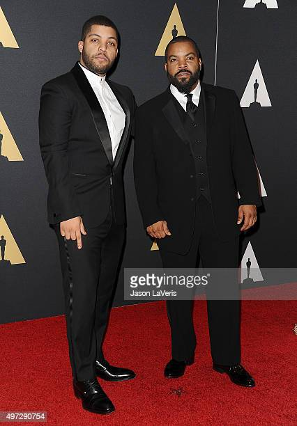 Actor O'Shea Jackson, Jr. And actor/ rapper Ice Cube attend the 7th annual Governors Awards at The Ray Dolby Ballroom at Hollywood & Highland Center...