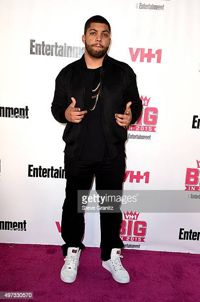 Actor O'Shea Jackson Jr attends VH1 Big In 2015 With Entertainment Weekly Awards at Pacific Design Center on November 15 2015 in West Hollywood...