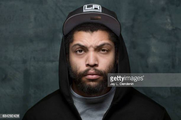 Actor O'Shea Jackson Jr from the film Ingrid Goes West is photographed at the 2017 Sundance Film Festival for Los Angeles Times on January 21 2017 in...