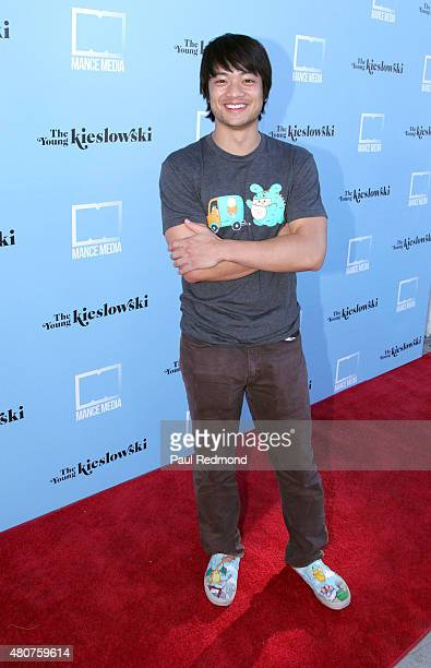 Actor Osric Chau attends the screening of Mance Media's 'The Young Kieslowski' at the Vista Theatre on July 14 2015 in Los Angeles California
