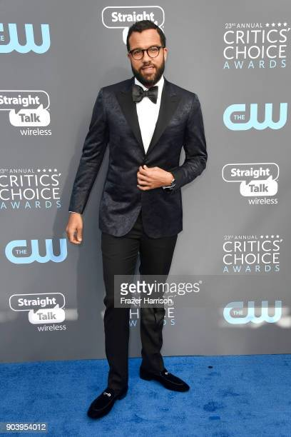 Actor OT Fagbenle attends The 23rd Annual Critics' Choice Awards at Barker Hangar on January 11 2018 in Santa Monica California