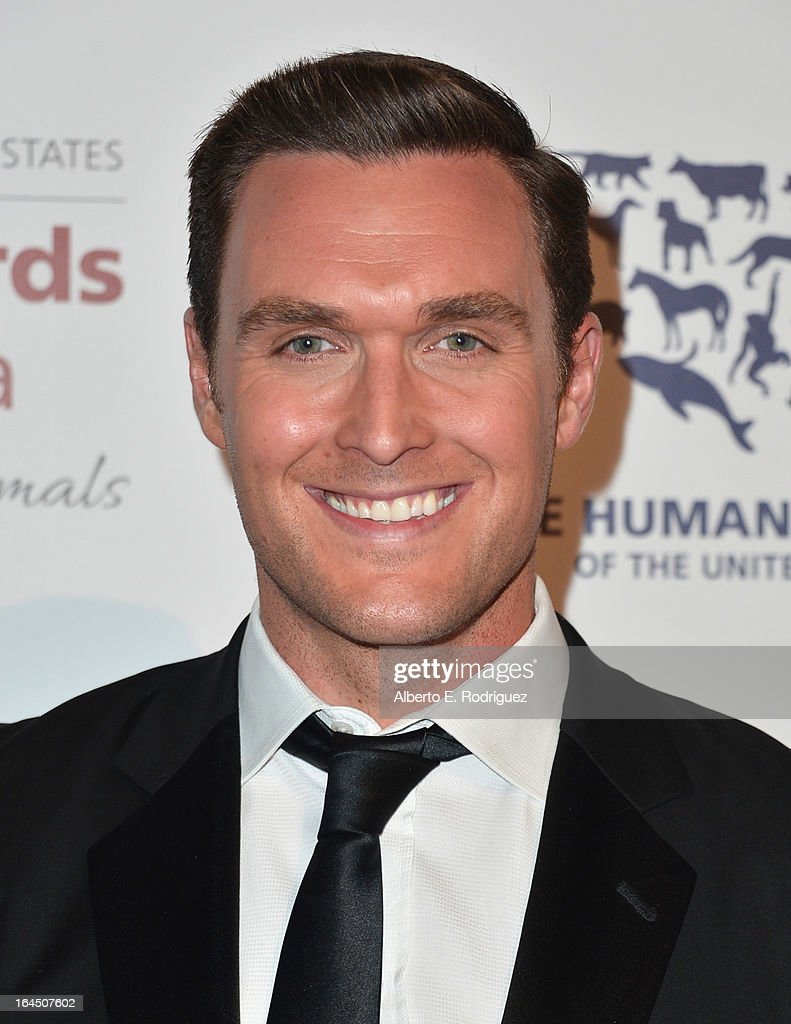 Actor Owain Yeoman arrives to the 2013 Genesis Awards Benefit Gala at The Beverly Hilton Hotel on March 23, 2013 in Beverly Hills, California.