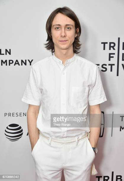 Actor Owen Campbell attends the Super Dark Times Premiere during 2017 Tribeca Film Festival at Cinepolis Chelsea on April 20 2017 in New York City