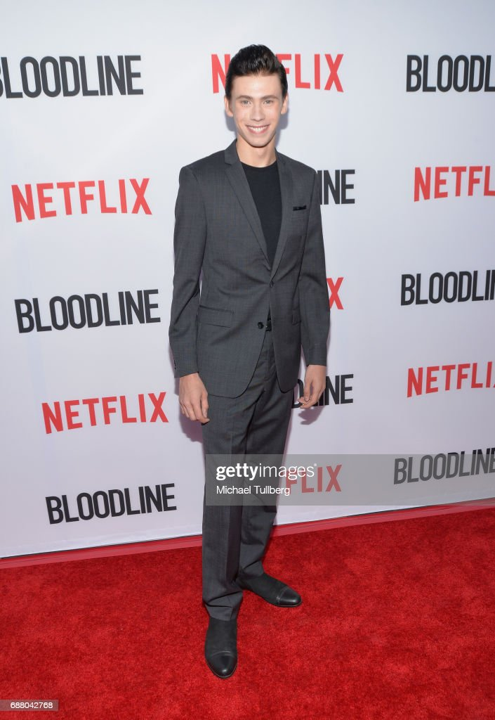 Actor Owen Teague attends the Los Angeles premiere of Netflix's 'Bloodline' Season 3 at Arclight Cinemas Culver City on May 24, 2017 in Culver City, California.