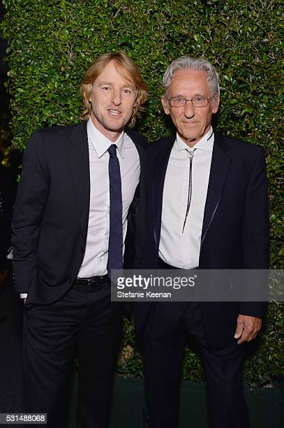 Actor Owen Wilson and honoree Ed Ruscha attend the MOCA Gala 2016 at The Geffen Contemporary at MOCA on May 14 2016 in Los Angeles California