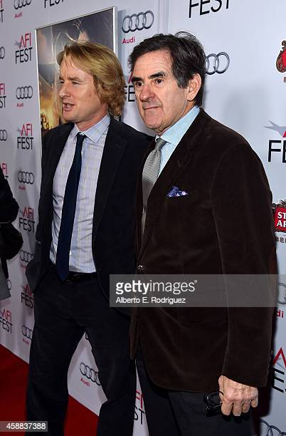 Actor Owen Wilson and Peter Brant attend the screening of The Homesman during AFI FEST 2014 presented by Audi at Dolby Theatre on November 11 2014 in...