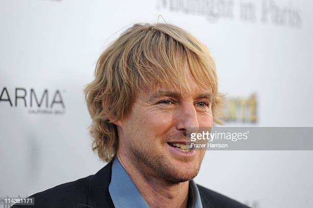 Actor Owen Wilson arrives at premiere of Sony Pictures Classics' Midnight In Paris at Academy of Motion Picture Arts and Sciences' Samuel Goldwyn...