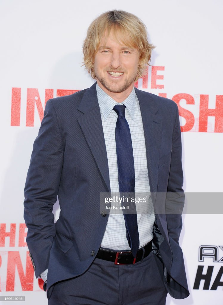 Actor Owen Wilson arrives at the Los Angeles Premiere 'The Internship' at Regency Village Theatre on May 29, 2013 in Westwood, California.