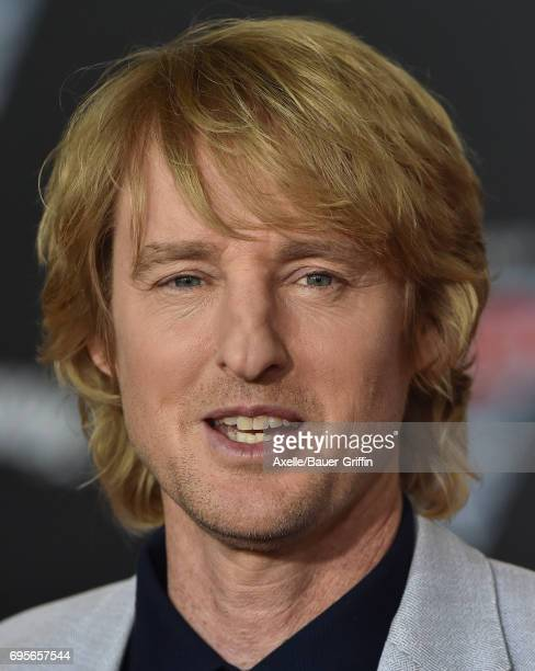 Actor Owen Wilson arrives at the premiere of 'Cars 3' at Anaheim Convention Center on June 10 2017 in Anaheim California