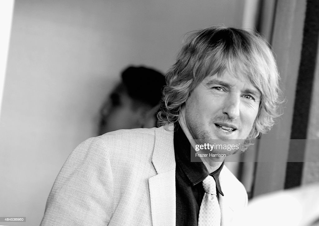 . Actor Owen Wilson arrives at the Premiere Of Lionsgate Premiere's 'She's Funny That Way' at Harmony Gold on August 19, 2015 in Los Angeles, California.
