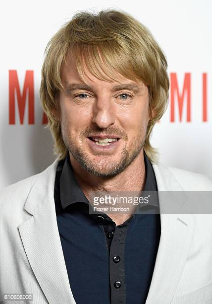 Actor Owen Wilson arrives at the Premiere of Relativity Media's Masterminds at TCL Chinese Theatre on September 26 2016 in Hollywood California